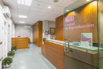 Fertility Clinic in Spain | Reception | URE Centro Gutenberg
